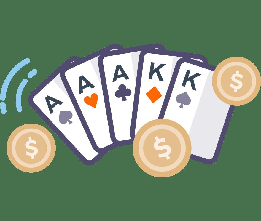 62 parimat New Casinot, mille mängude hulgas on 2021. aastal Pokker